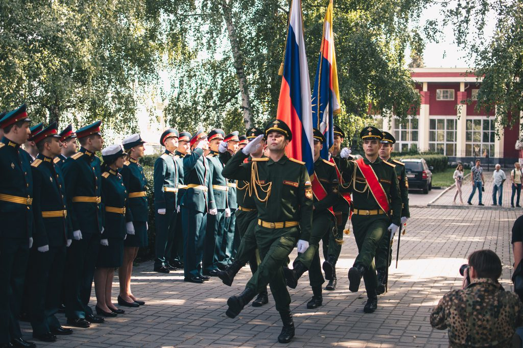 Выпускникам Военного учебного центра присвоили офицерское звание