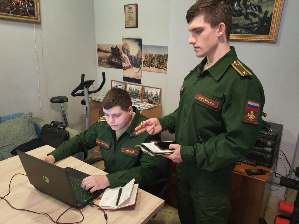 Курсанты Военного учебного центра при ВГУ проходят стажировку в пресс-службах военных округов