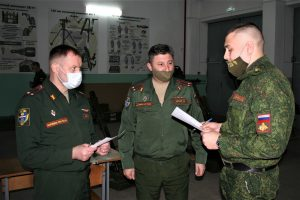 Курсанты военного учебного центра при ВГУ успешно прошли итоговую аттестацию