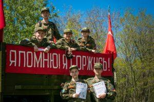 Студенты ВУЦ посмотрели военно-историческую реконструкцию в Белгородской области «Лето 43-го»