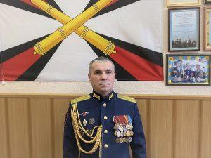 Поздравление начальника военного учебного центра с началом учебного года
